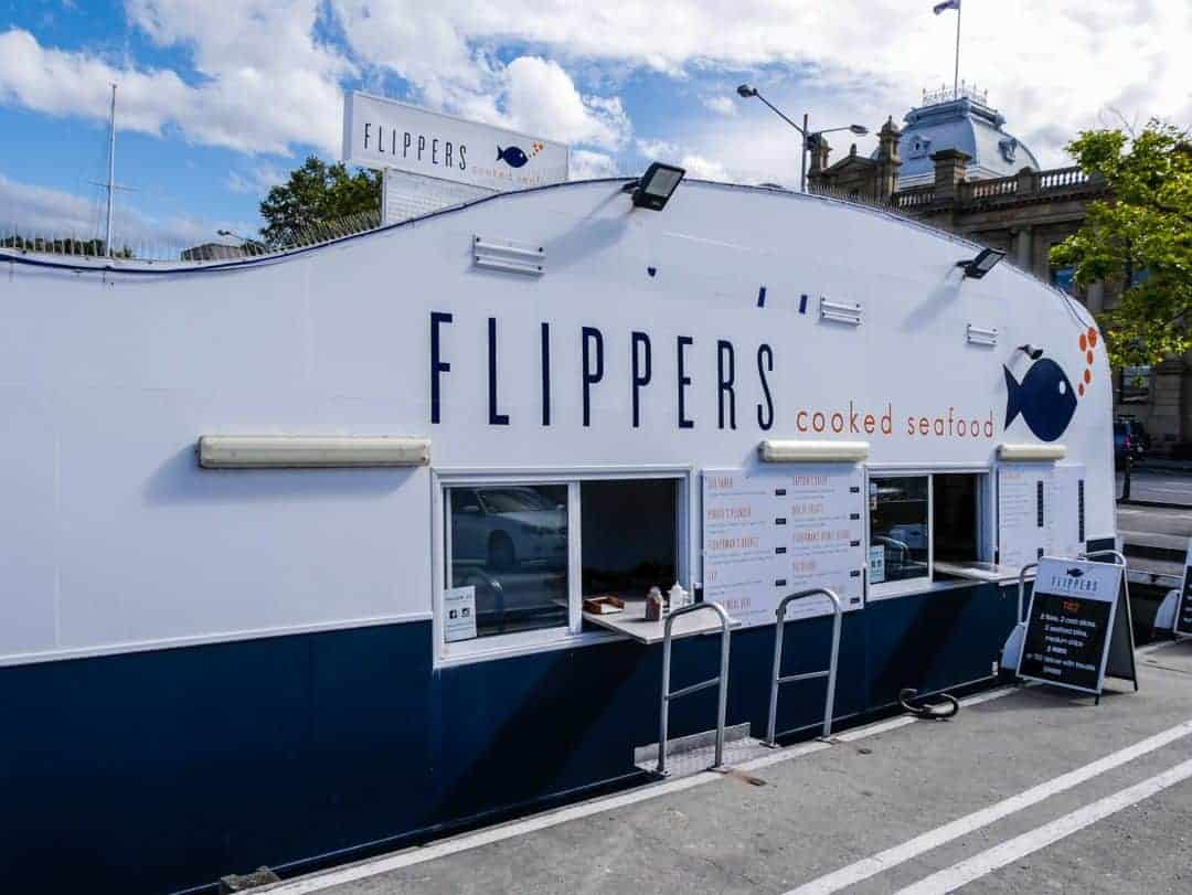 best things to see and do in Hobart Flippers Fish and Chips