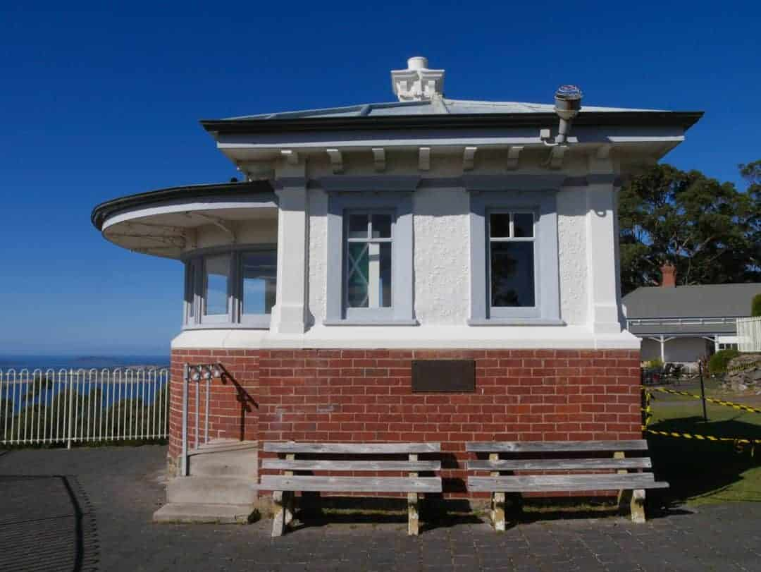 The signalman's cottage at Mt Nelson