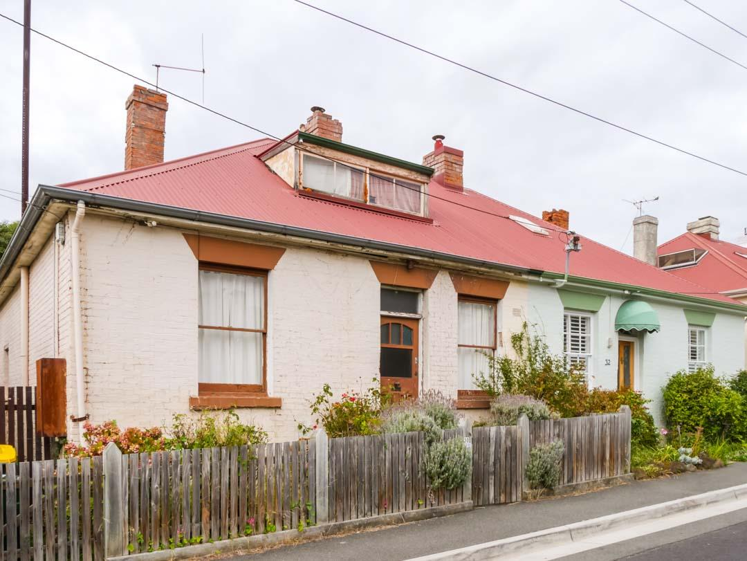 workers cottage in battery point hobart_