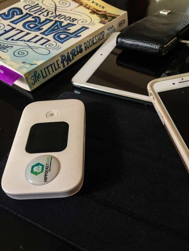 Hip Pocket Wifi with multiple devices - portable wifi rental
