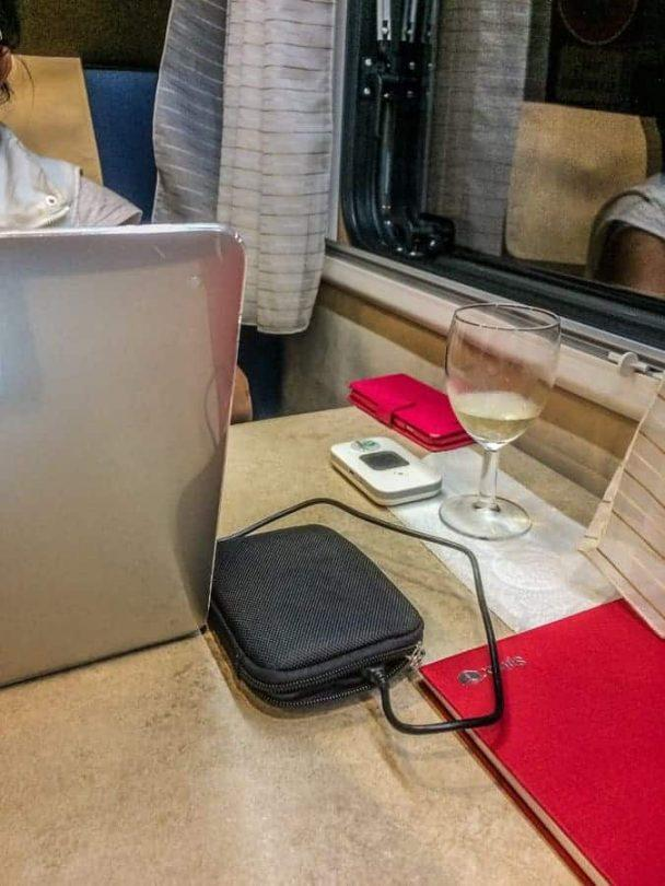 Hip Pocket wifi in motorhome