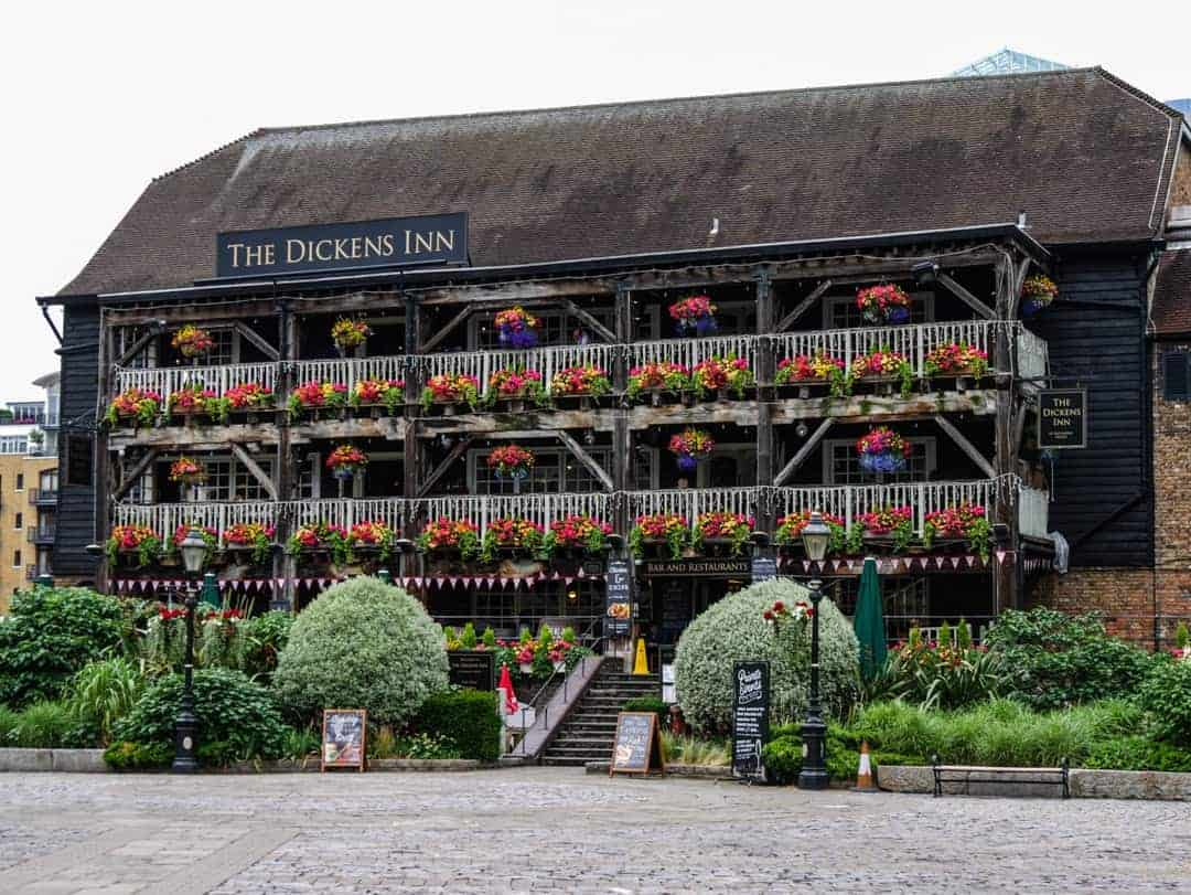 The beautiful Dickens Inn