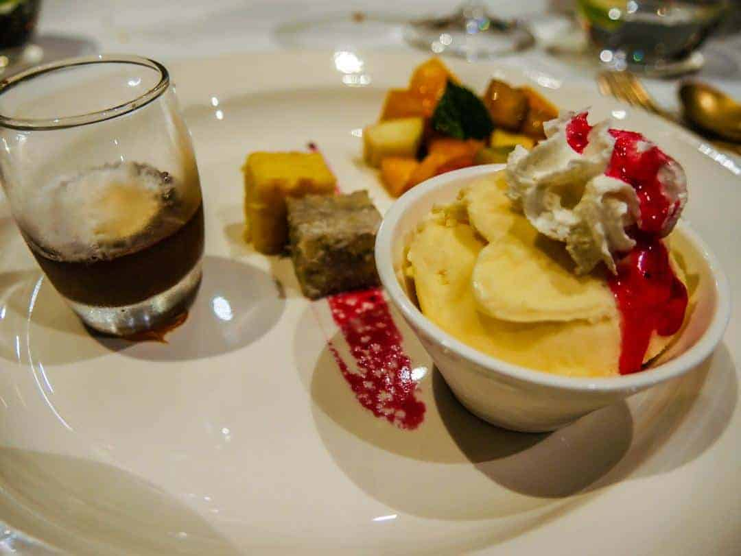 dessert The Blue Elephant Hilton Malta - luxury hotels in Malta