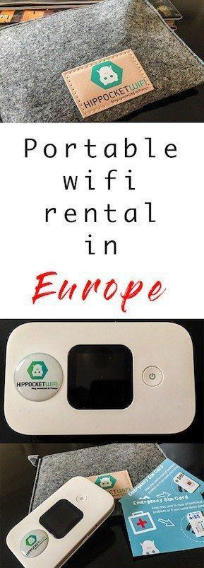 Portable wifi rental is a must these days when you are travelling. Easy to connect and use and saves on nasty global roaming charges!