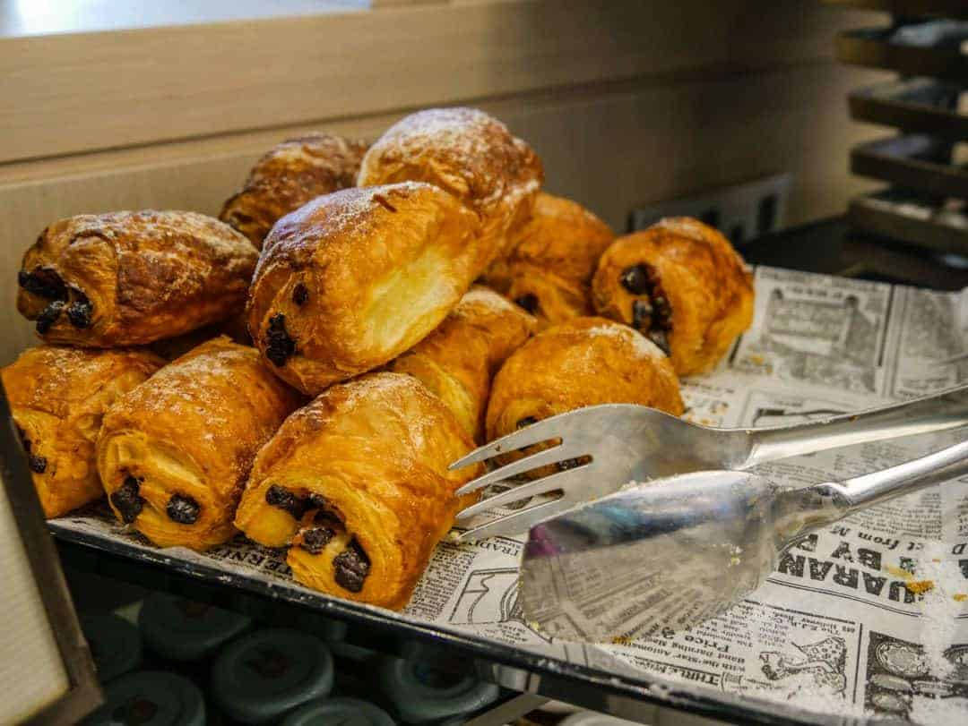 pastries for breakfast hilton malta