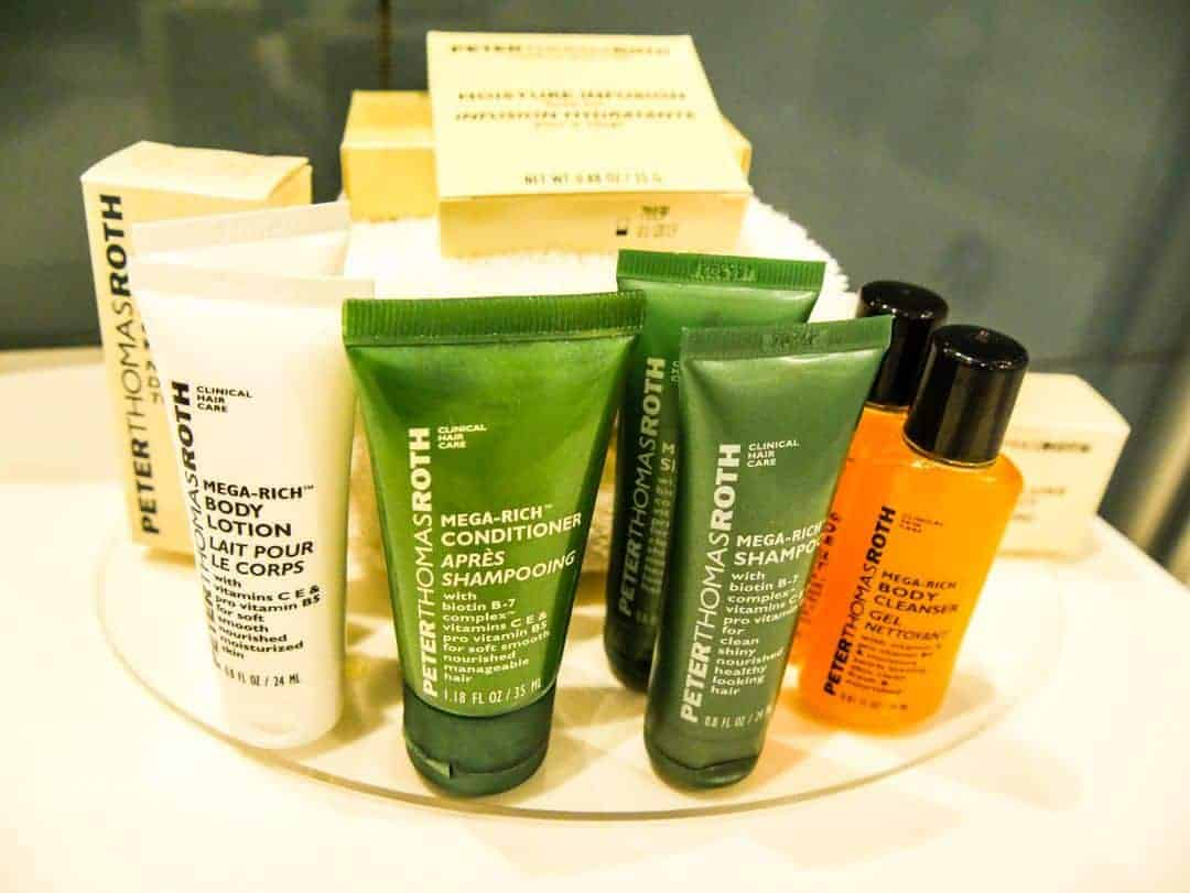 toiletries hilton malta
