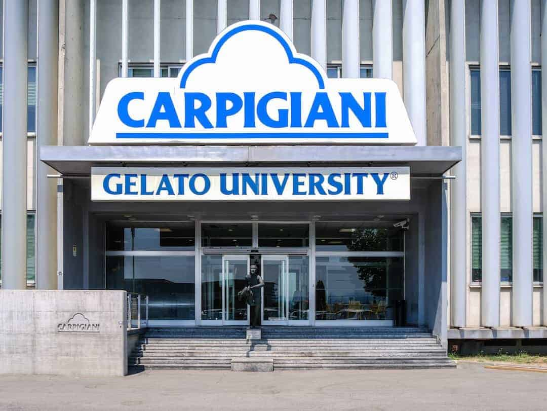 Carpigiani Gelato University - gelato museum bologna