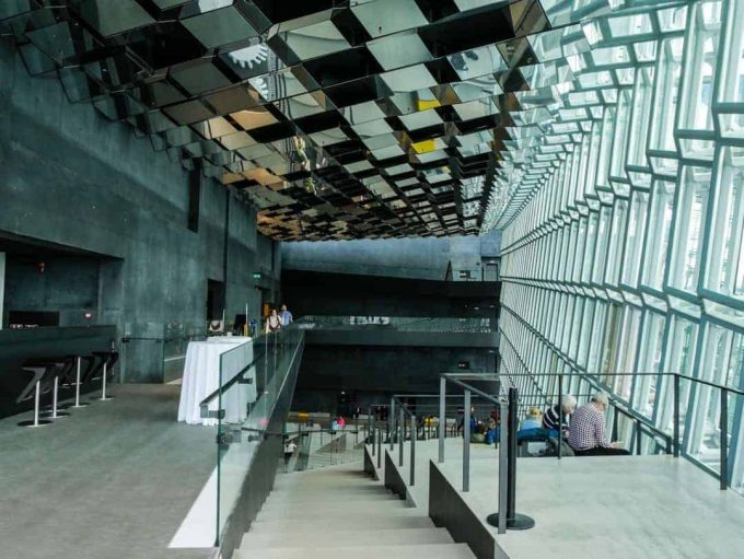 Inside Harpa