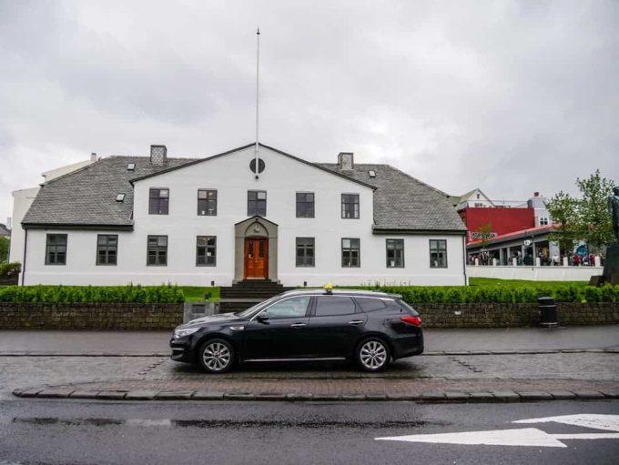 Stjornarradid government House Reykjavik