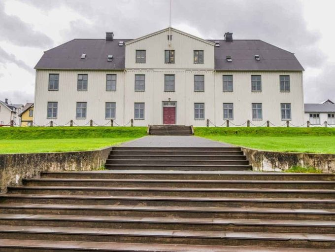 The Menntaskóli in Reykjavik