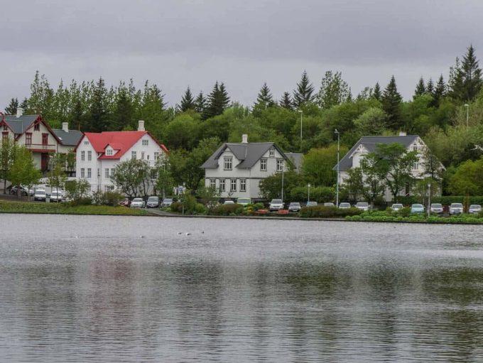 Tjornin Pond Reykjavik