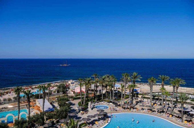 View of Hilton Malta resort