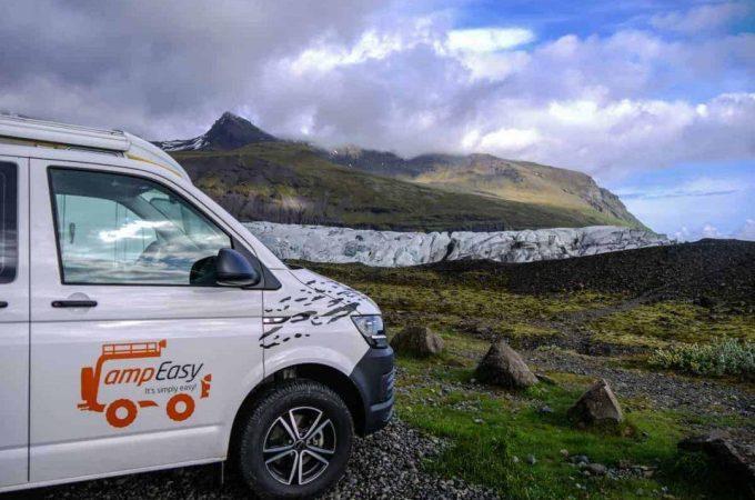 campeasy campervan - hiring a campervan in iceland