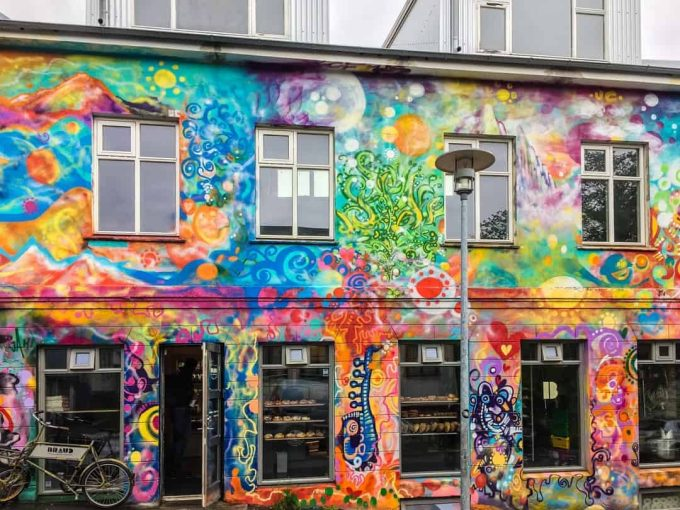 colourful streets reykjavik on the reykjavik walking tour