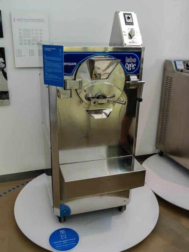modern machinery gelato museum bologna