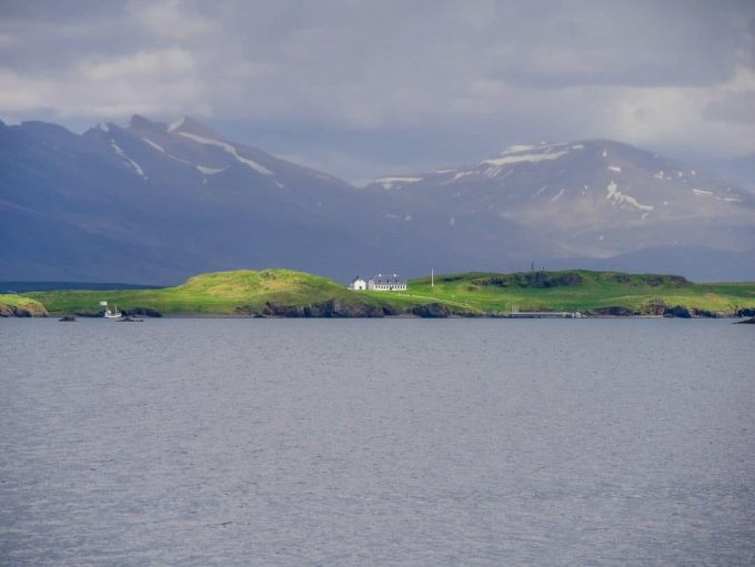 views across from reykjavik