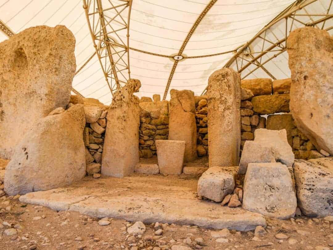 Mnajdra and Ħaġar Qim Temples in Qrendi