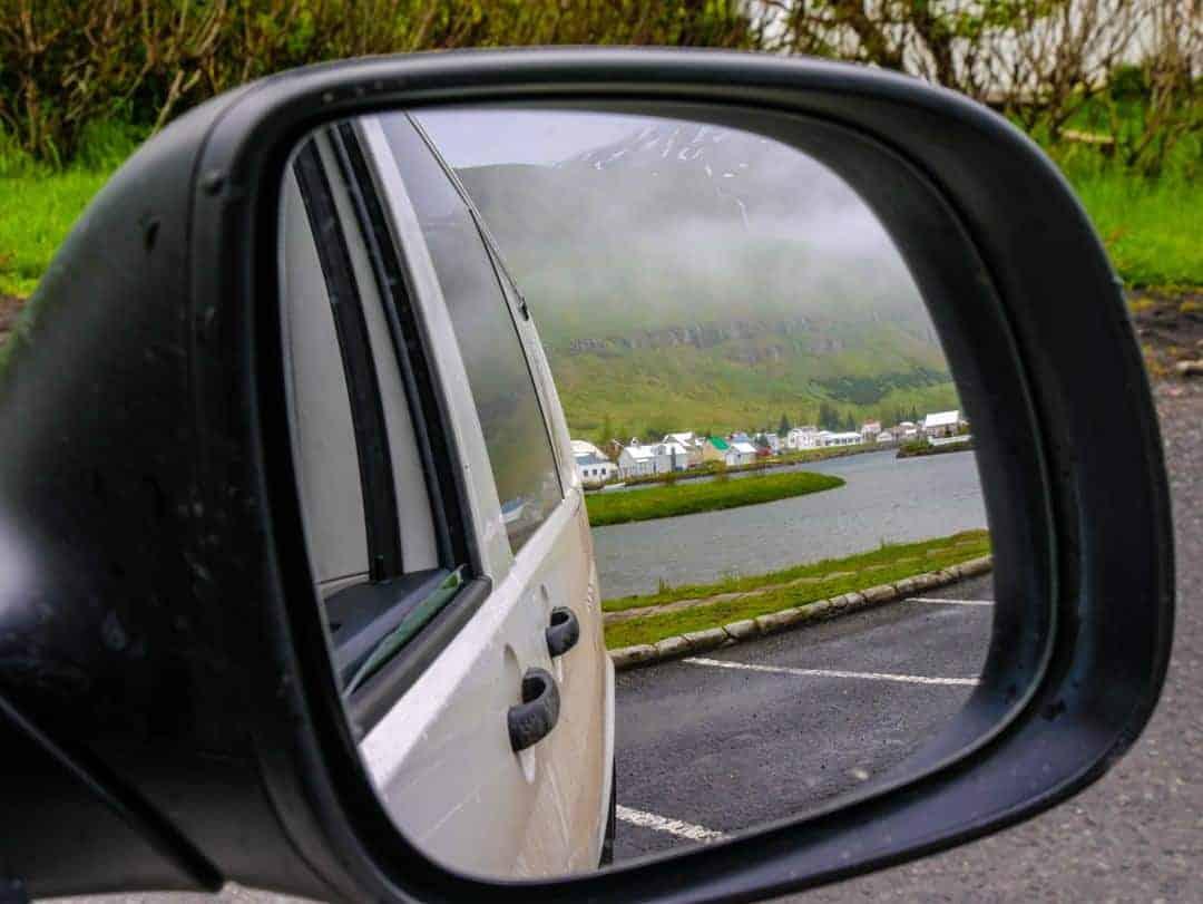 Seyðisfjörður stopover in campervan