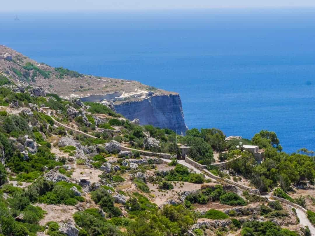 Things to see and do in Malta Dingli Cliffs