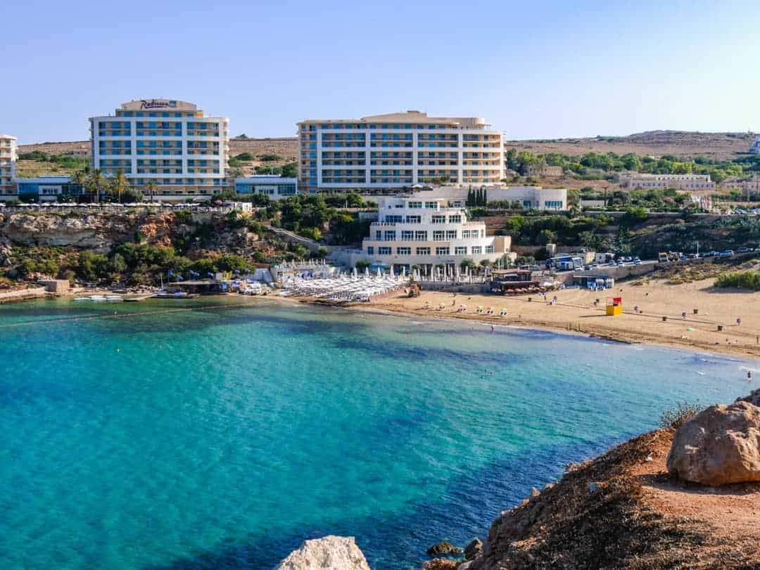 Things to see and do in Malta Golden Sands Beach