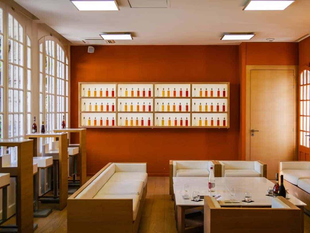 Remy Martin Visit Cognac tasting room- cognac tours