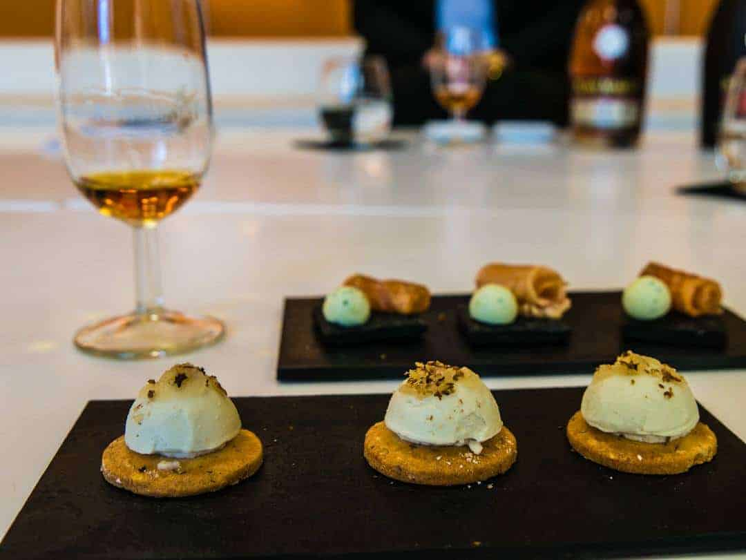 cognac with blue cheese