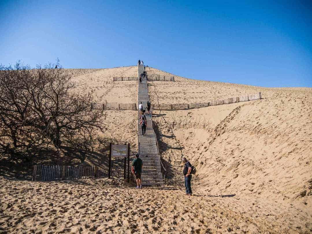 Dune de Pilat - motorhome touring in France
