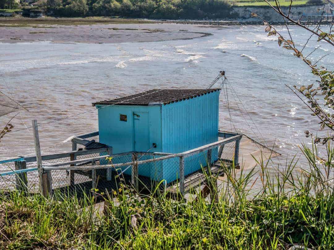Talmont-sur-Gironde fishing hut