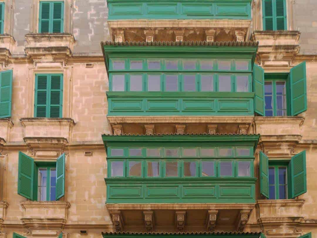 Valetta Malta gallerias
