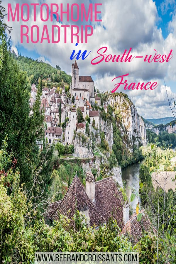Motorhome touring in France - a 20 day itinerary through SW France