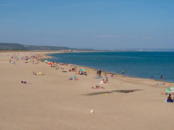 la franqui france beach