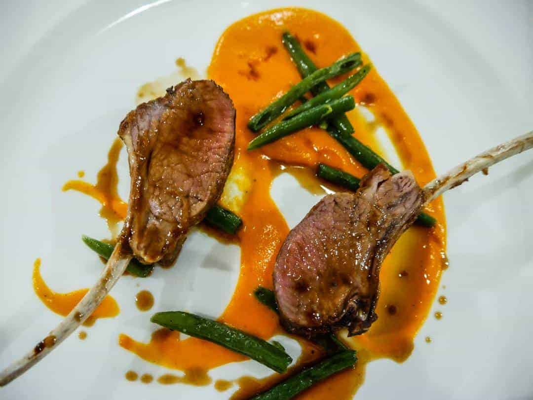 lamb cutlets Righi San Marino