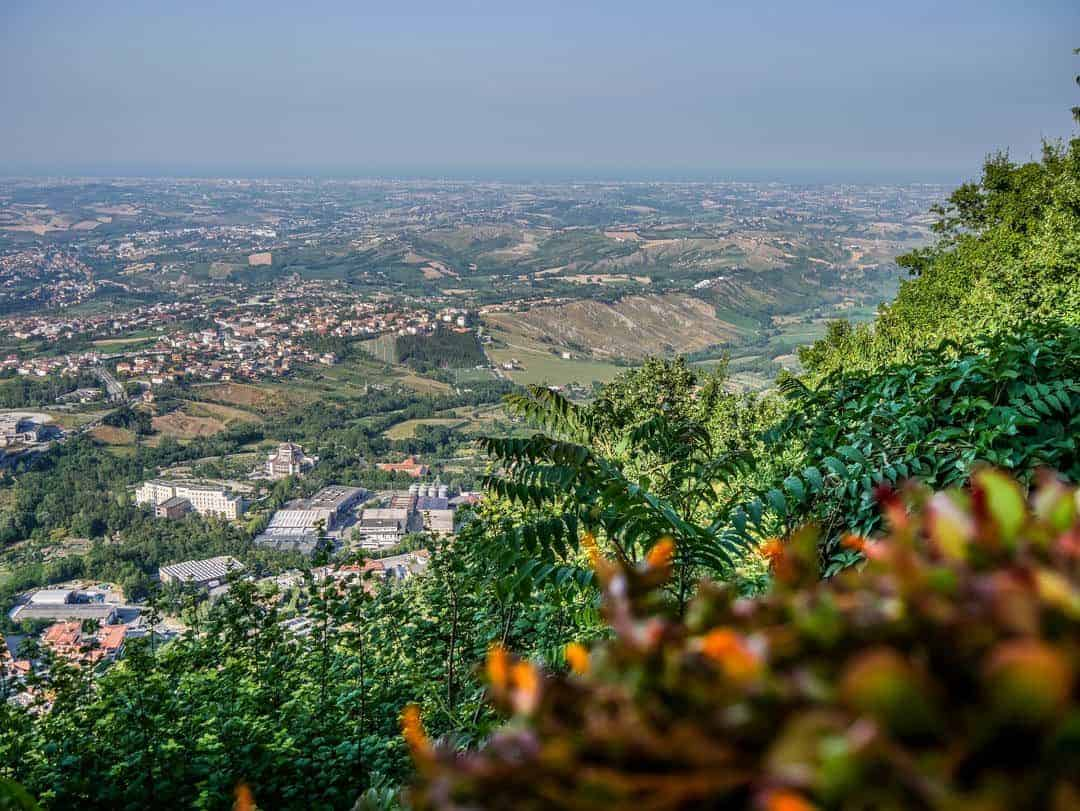 view over san marino - things to do in san marino