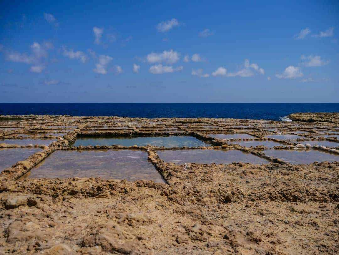 Salt pans in Gozo Xewejni