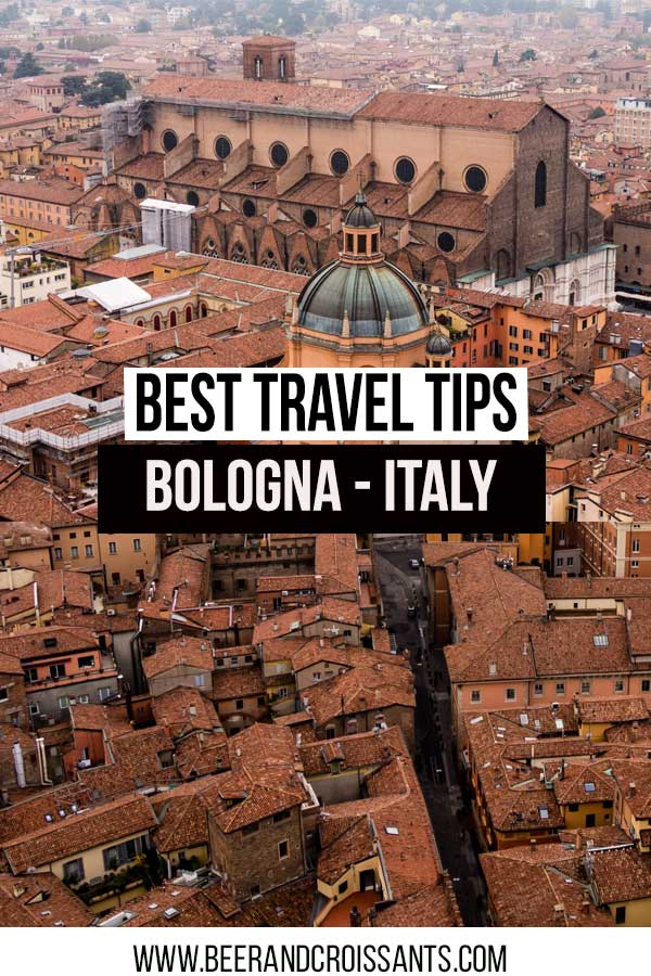 best travel tips bologna italy view from the asinelli tower bologna