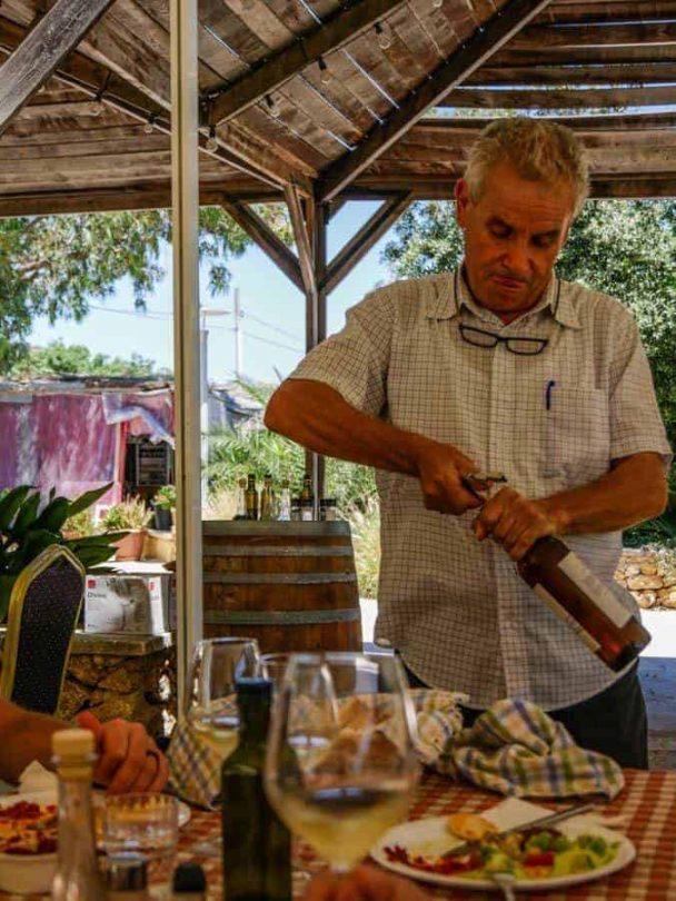 winetasting at ta mena estate