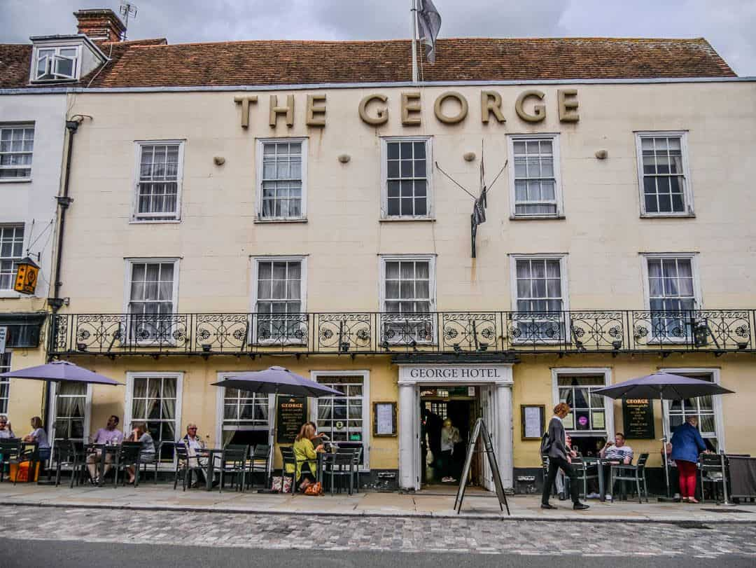 Colchester- luynch at The George