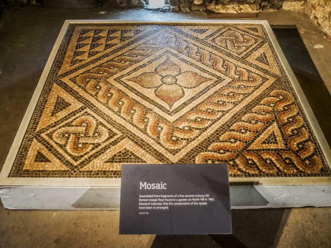 colchester Castle mosaic