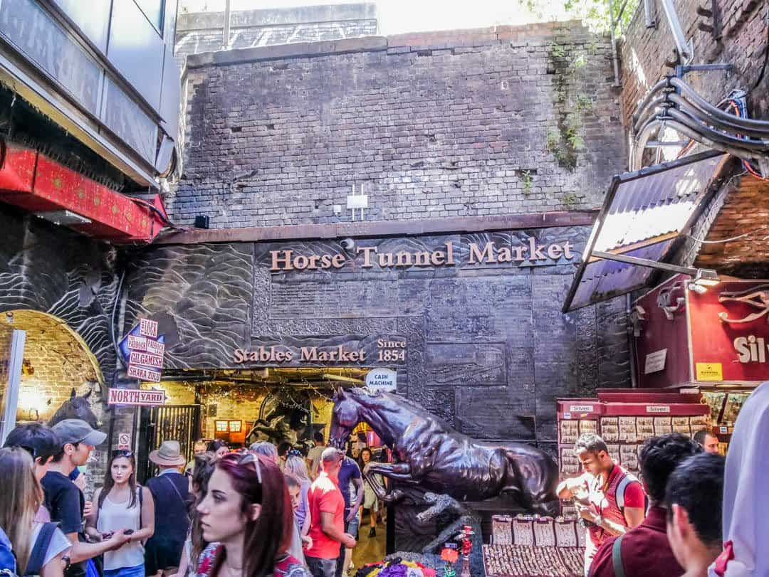 horse tunnel markets