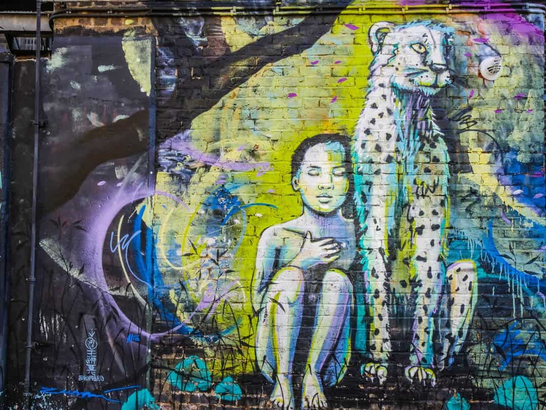 street art in camden town