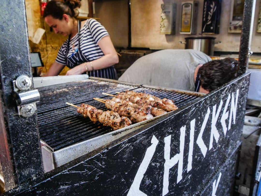 street food at camden markets