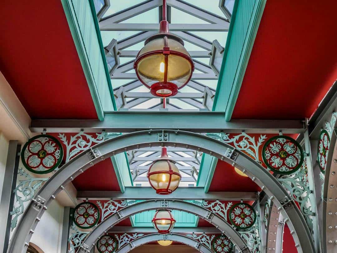 the beautiful interiors of the camden market