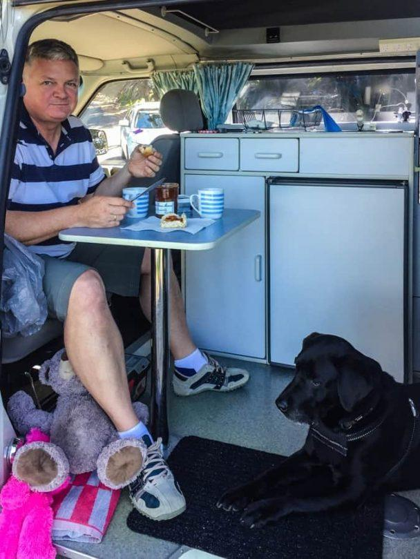inside a campervan - buying a used campervan in australia