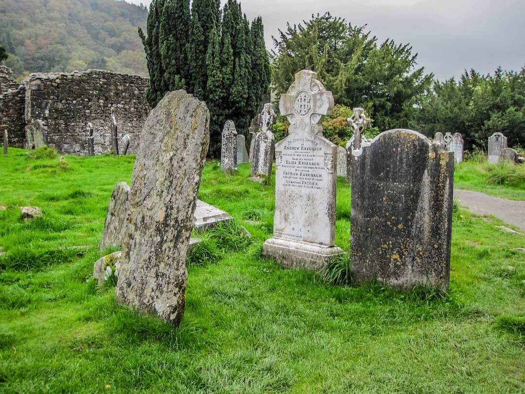 monastic ruins near Glendalough - planning-a-trip-to-ireland