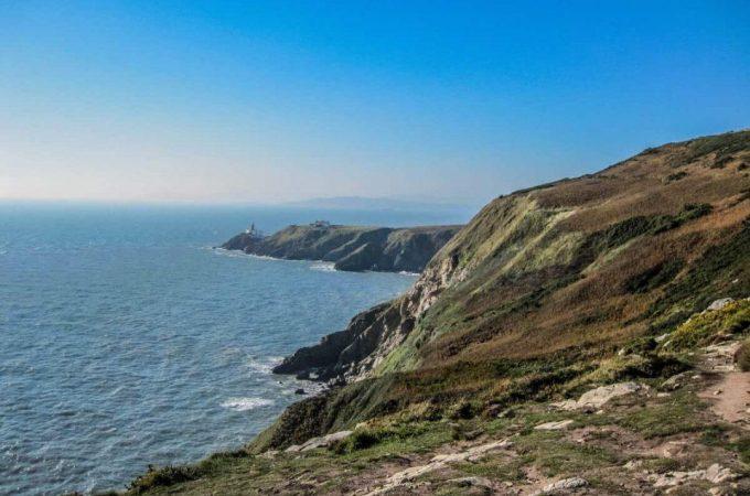 the cliffs of Ireland