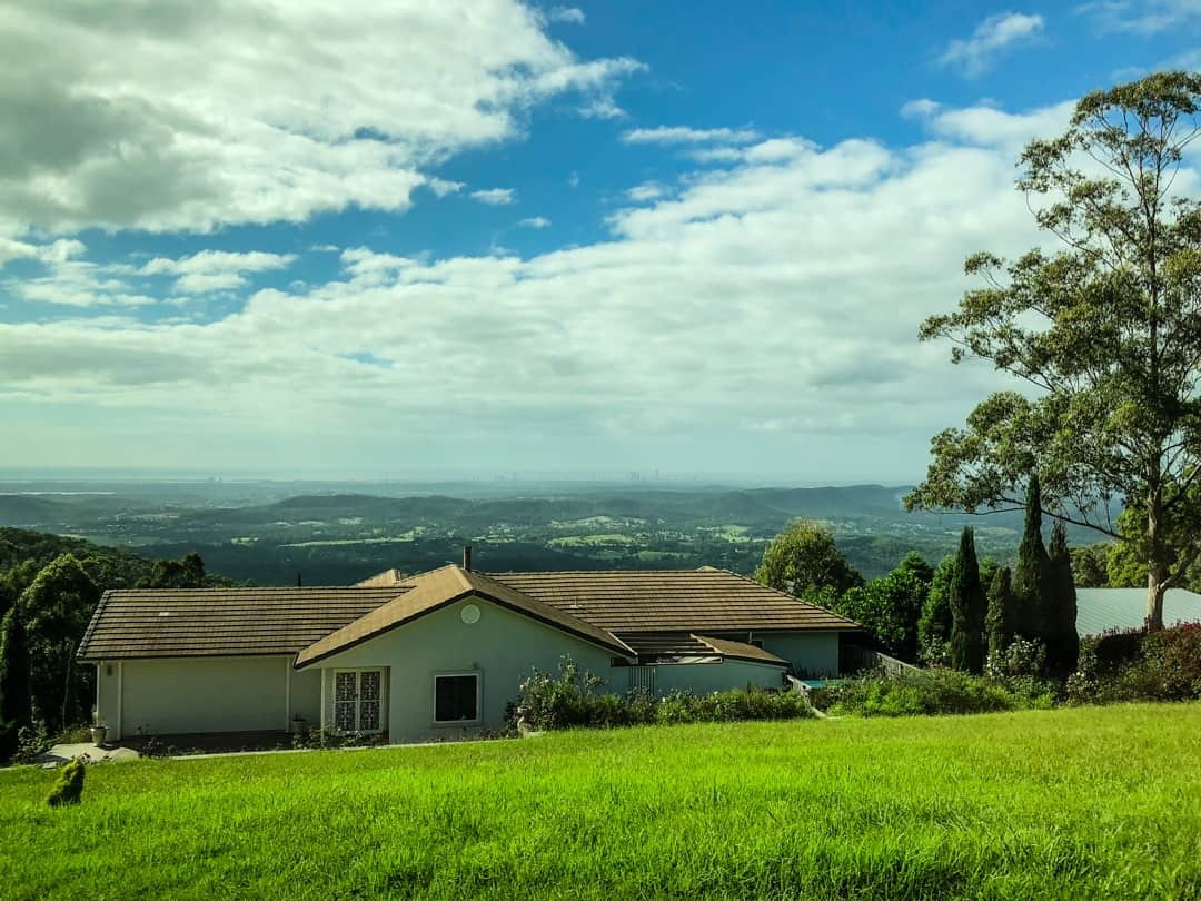 View from the top of Mt Tamborine