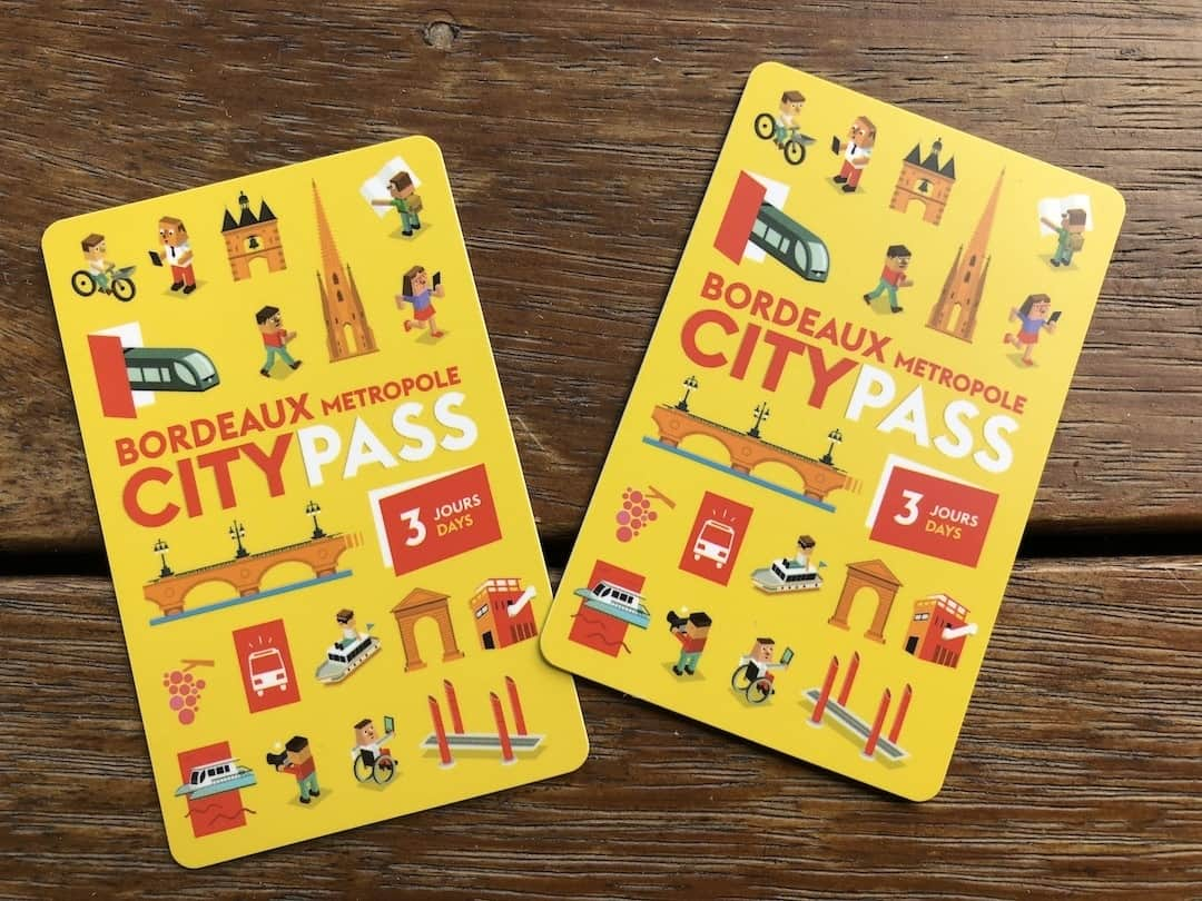 bordeaux city passes