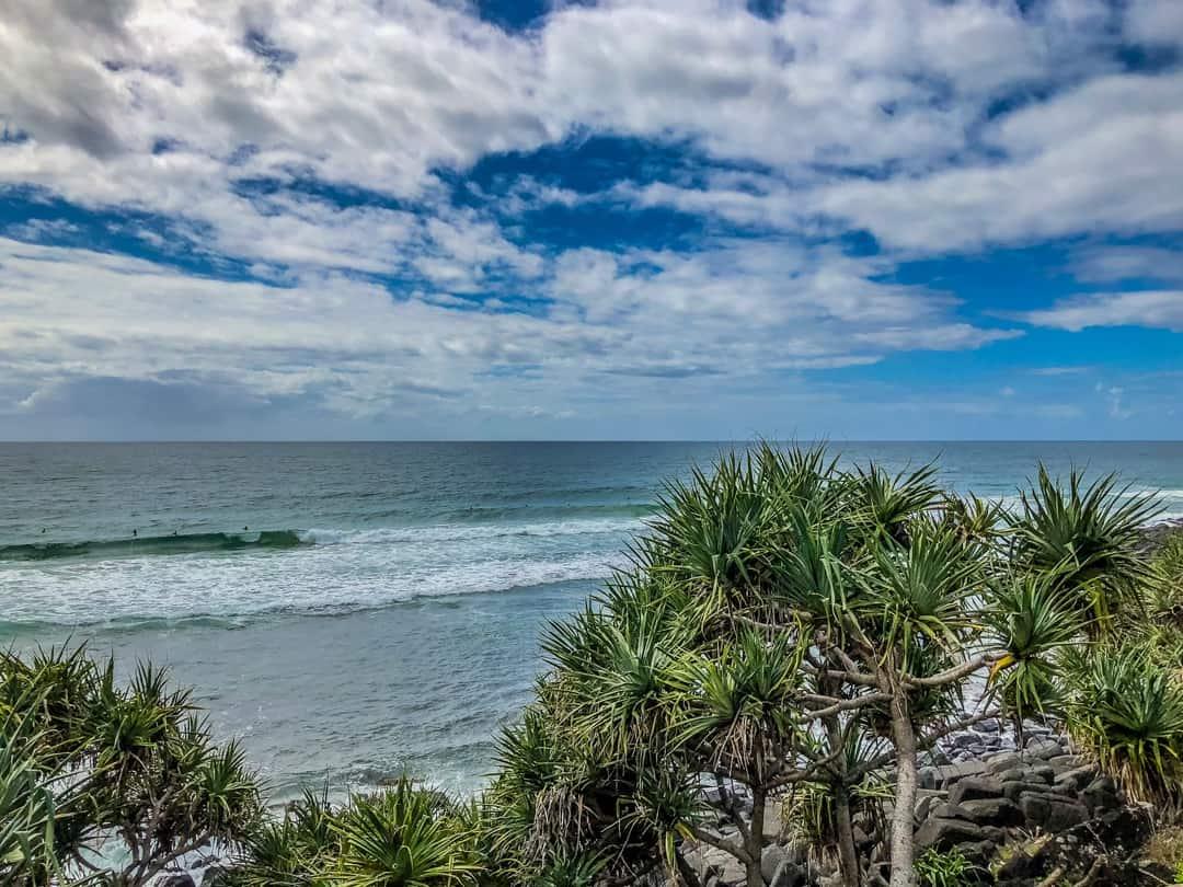 burleigh heads ocean