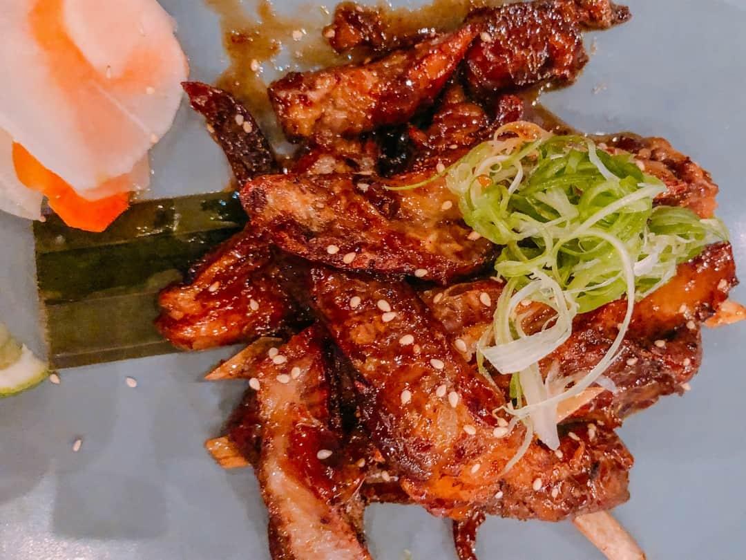 lamb ribs hideaway restaurant