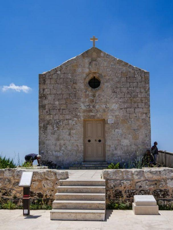 the church at the dingli cliffs